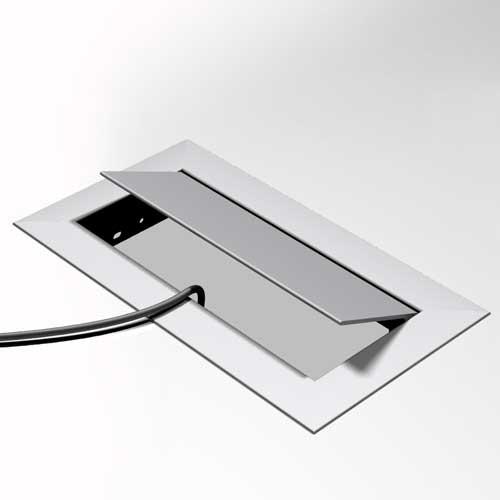 Passe-câbles rectangulaire MHO