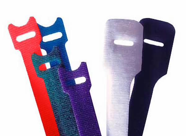 Sangles Velcro One Wrap - 20 x 200 mm - Pack de 5 - Noir