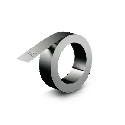Ruban 3D industriel - 12 mm x 6.40 m - acier sans adhésif