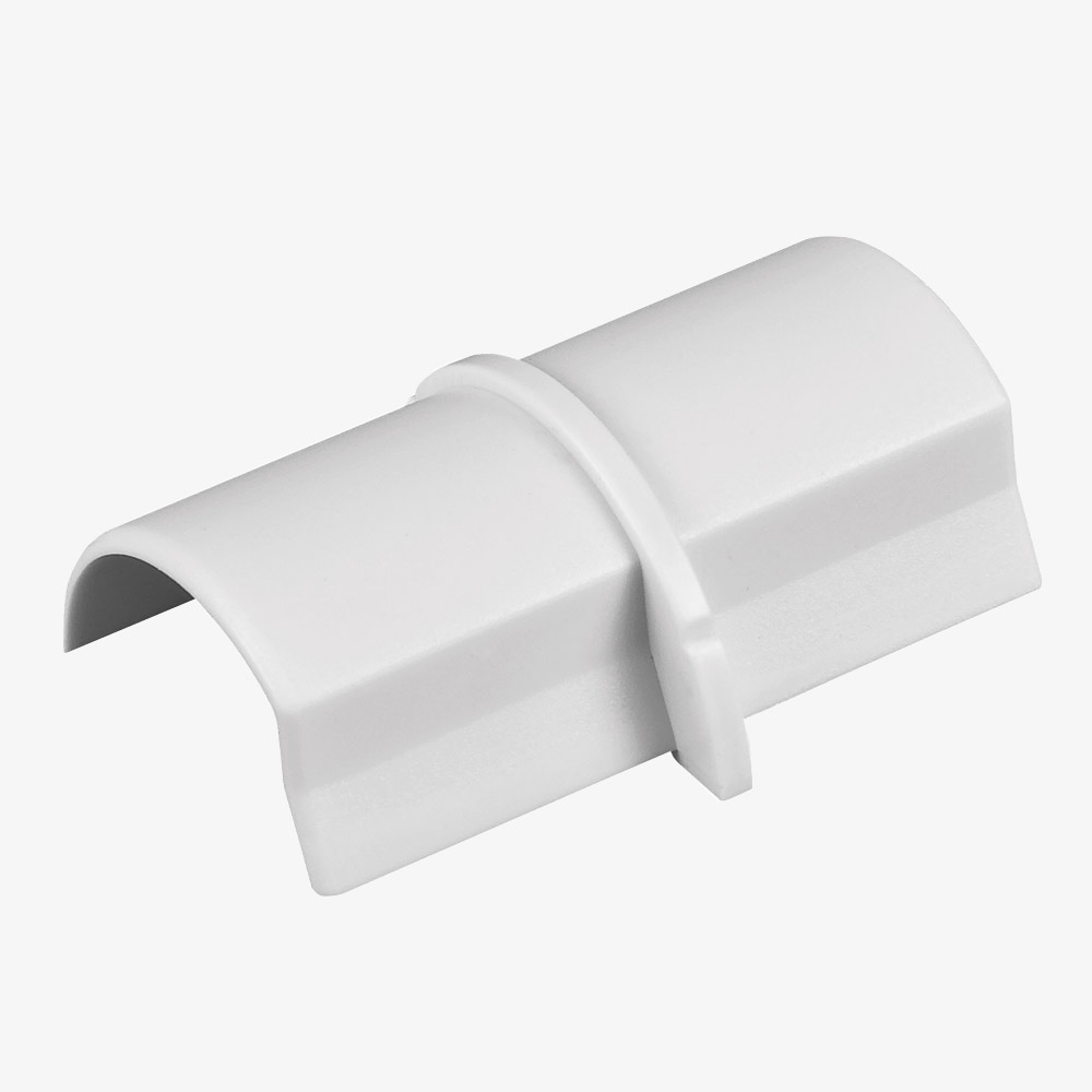 Coupleur pour goulottes D-Line® 30x15 mm Blanc