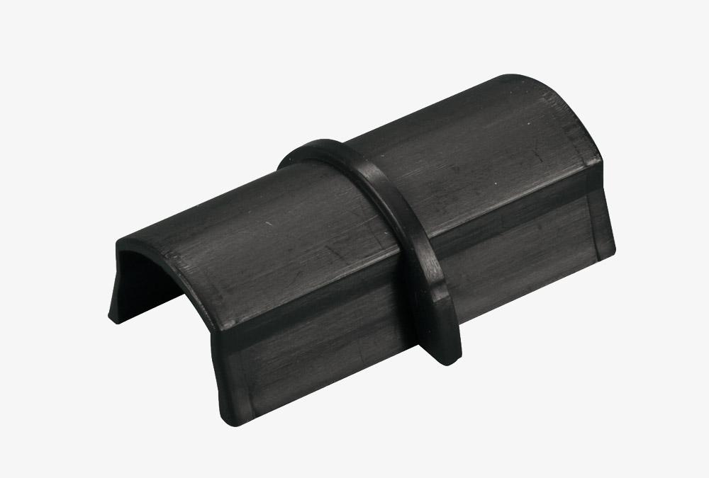 Coupleur pour goulottes D-Line® 30x15 mm Noir