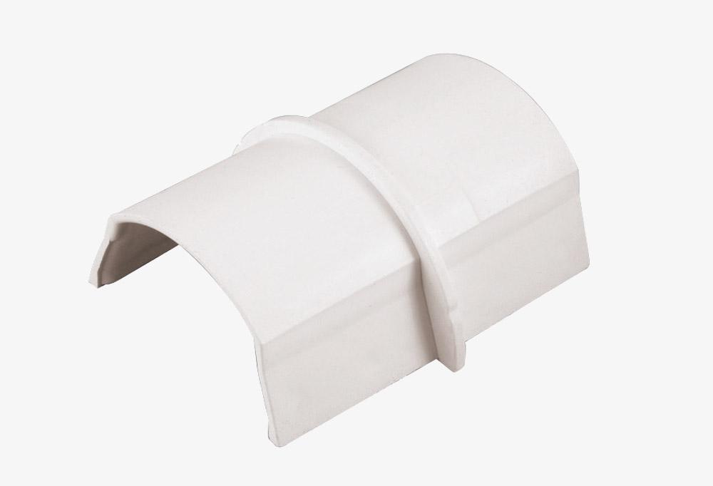 Coupleur pour goulottes D-Line® 50 x25 mm Blanc