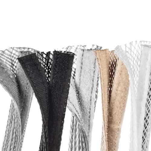 Gaine Tressée à scratch Flexo® Wrap 31,75 mm 1 m