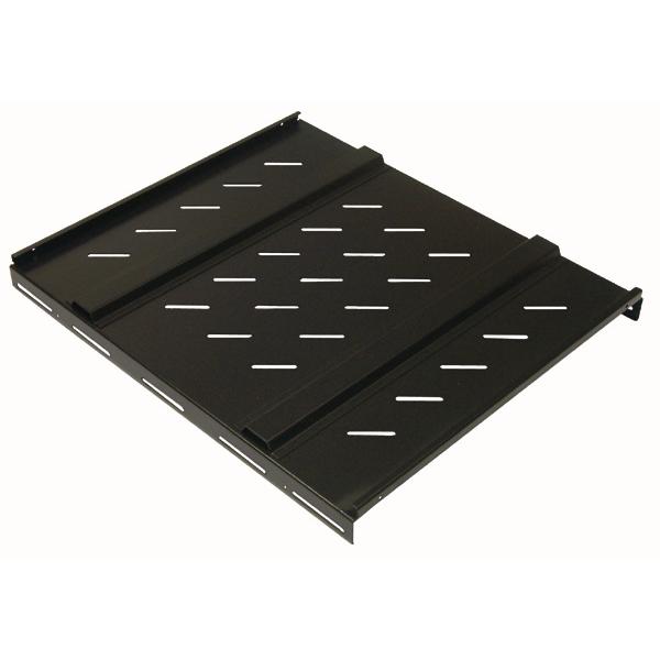 Tablette fixe résistante lourde charge, fixations avant et arrière réglables