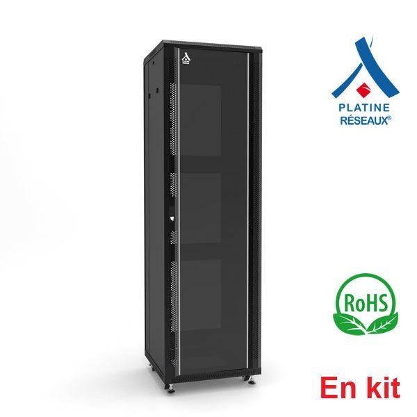 Baie Platine Réseaux® 47U - En kit 600