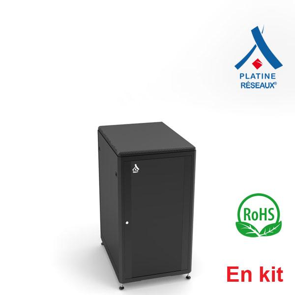 Baie Platine Réseaux® 21U - En kit 600