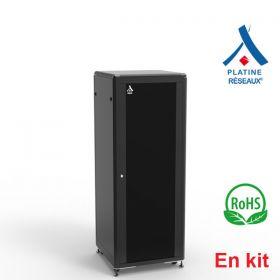 Baie Platine Réseaux® 31U - En kit 600