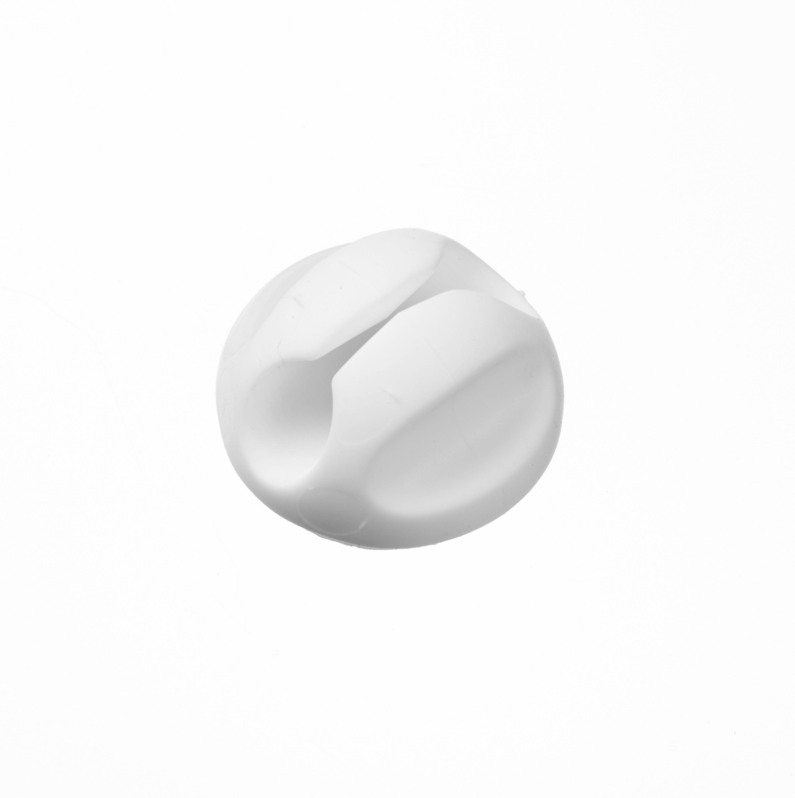 Base câble Tidy D-line - Blanc