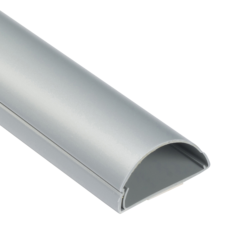 Goulotte 1/2 cercle D-Line® 50x25 mm Alu