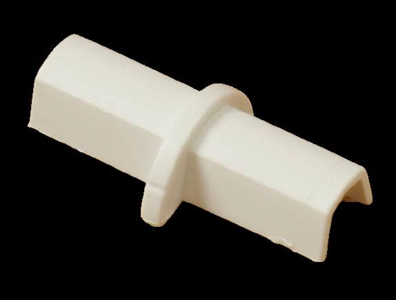 Coupleur pour goulottes D-Line® 16 x 08 mm Blanc