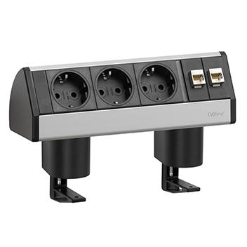 EVOline® Dock DATA SMALL Argent avec fixation