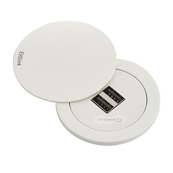 EVOline® One Blanc   2 USB