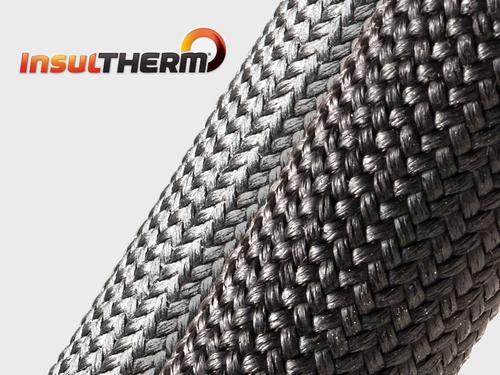Gaine Tressée en fibre de verre  Insultherm