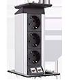 EVOline® Port Push Data 3 x PC
