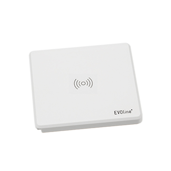 EVOline® Square80 Qi blanc