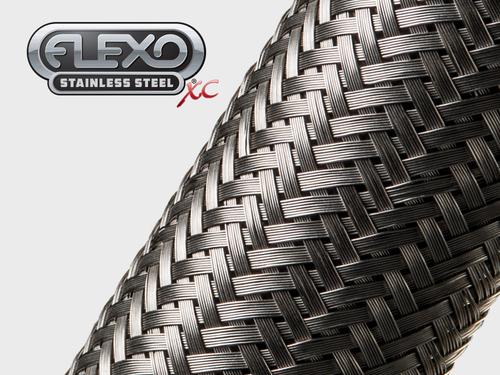 Gaine Tressée en acier inoxydable extensible XC