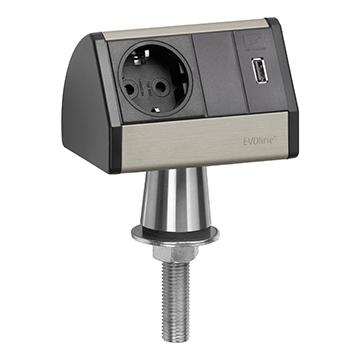 EVOline® T-Dock avec chargeur USB