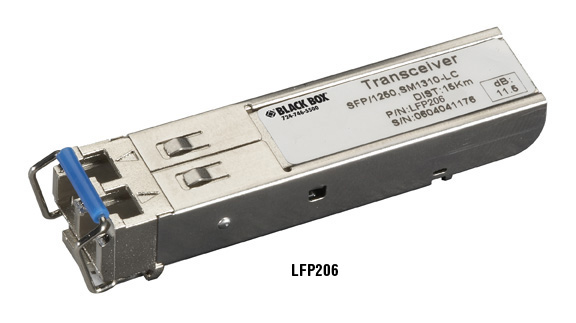Transceivers SFP 1,250 Gbit/s