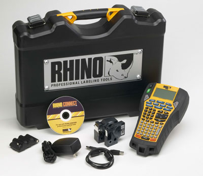 Kit mallette rigide Dymo Rhino 6000