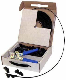 Serre-câbles autoserrants en nylon Smart Band®