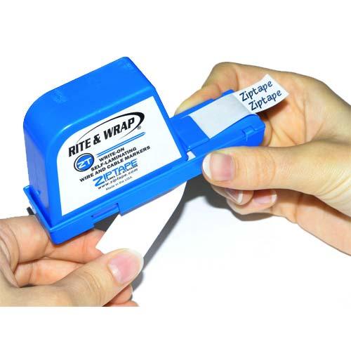 Distributeur d'étiquettes Ziptape® Rite & Wrap