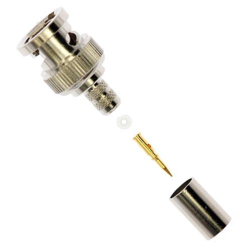 Assemblage Mâle BNC 2-pièces Amphenol