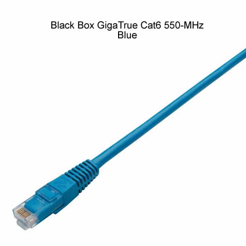 Cordon CAT6 UTP GigaTrue 550 anti-accroc - Black Box