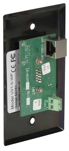 Mini-émetteur mural prolongateur VGA CAT5