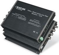 Déport fibre optique vidéo/audio stéréo universel