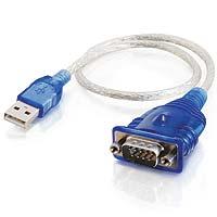Câble adaptateur Usb port Série (DB9) Cables To Go®