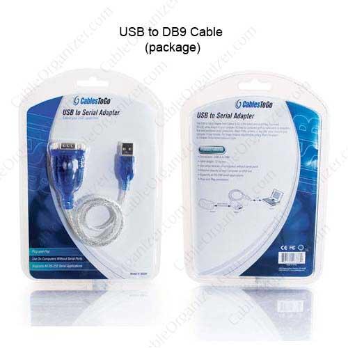 Câble adaptateur Usb port Série (DB9) Cables To Go™