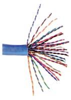 Câble 25-Paires en bobine Cat5e et Cat3