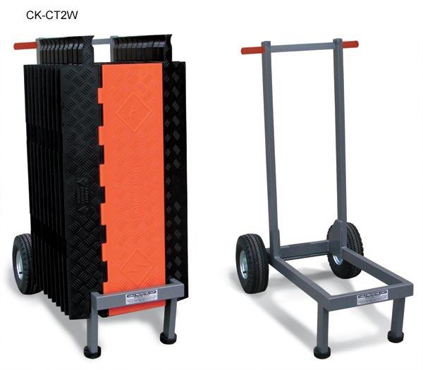 Chariots de transport pour protecteurs de câbles RampRunner