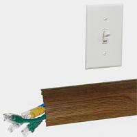 Protecteurs de câbles muraux ChordSavers™ WallSaver™