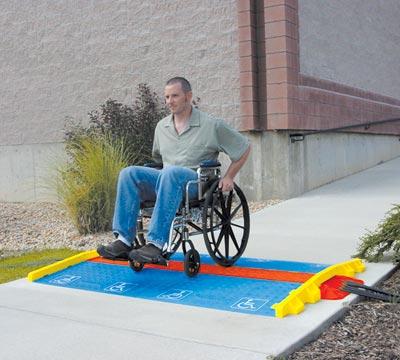 Rampes et Accessoires pour personnes handicapées