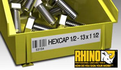 Kit mallette rigide Dymo Rhino 6000
