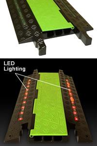 Protecteur de câbles lumineux par LED Firefly®