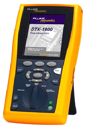 DTX CableAnalyzer de Fluke Networks