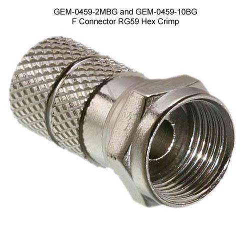 Connecteur type F - GEM Electronics