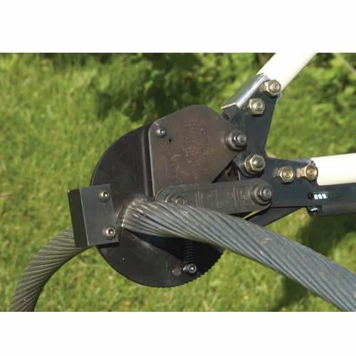 Coupe-câble haute performance GREENLEE GL-776 pour conducteurs aluminium en acier-renforcé (ACSR)