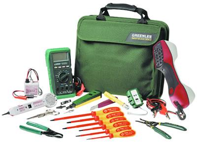 Kit de Technicien de Télécommunication - Greenlee