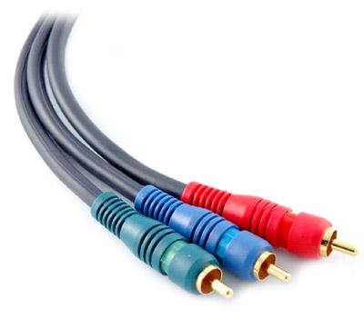 Câble vidéo composant, Connecteurs RCA, Câblage Home-cinéma