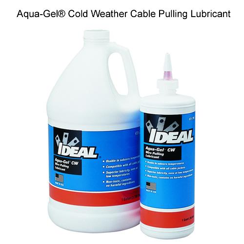 Lubrifiant pour câble Aqua-Gel® pour environnement froid d'IDEAL