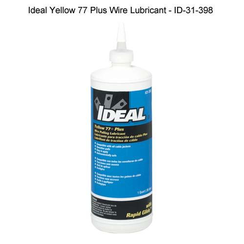 Lubrifiant pour câbles Yellow 77® d'Ideal Industries