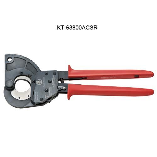 Coupe-câble à cliquet pour conducteurs aluminium en acier-renforcé (ACSR) de Klein Tools