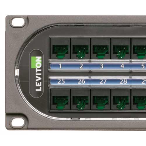 Panneaux de brassage C1 Ultra™ de Leviton