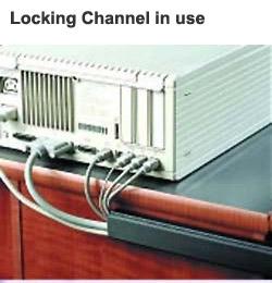 Goulotte à câbles refermable