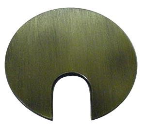 Passe-câble Métallique avec Finition en bronze