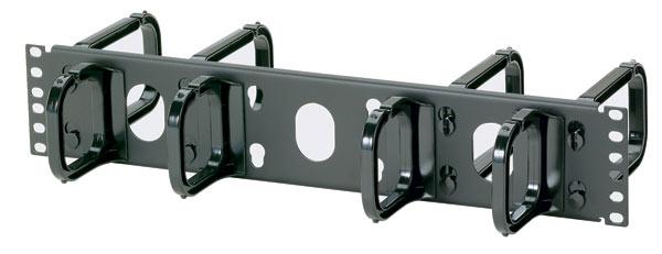 Guides-câbles horizontaux D-ring ouverts