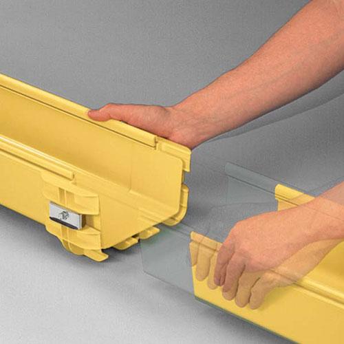 Goulotte Fibre Optique 5x5 cm Panduit® FiberRunner®